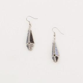Beaded Geometry Earrings