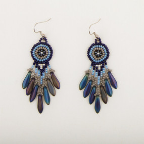 Spike Fringe Earrings