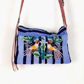 Santiago Leather Fringe Bag