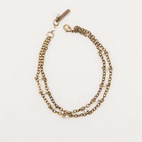 Faceted Metal Cube Bracelet