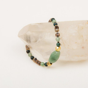 Faceted Stone Bracelet
