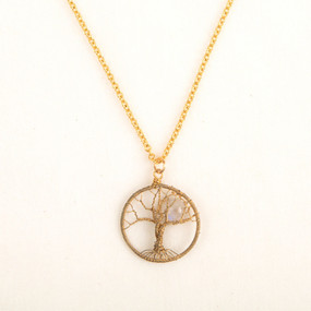 Moonstone Moonlit Necklace