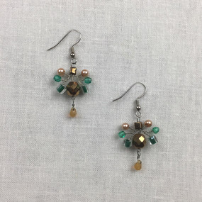 Small Wire Geo Earring