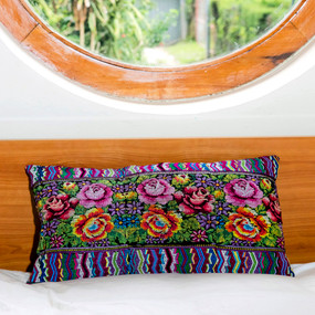 Large Comalapa Huipile Pillow
