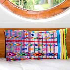 San Pedro Necta Huipile Pillow