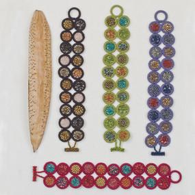 Beaded Circle Bracelet