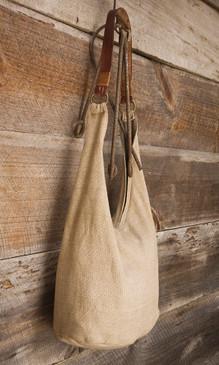 Handwoven Cotton Hobo Bag