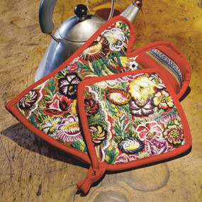 Recycled Huipile Pot Holders Set of 2