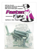 CLEAR Plastic Nuts with Metal BOLTS - Fasten Tight Pet Carrier hardware