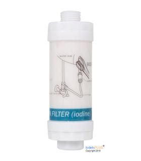 Iodine Bidet Water Filter