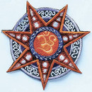 Star Om Patch
