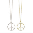 Classic Peace Necklace