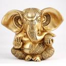 Beautiful Brass Ganesh Statue