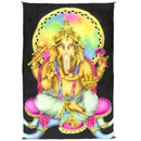 Beautiful Multi-Color Air Brushed Ganesh Tapestry