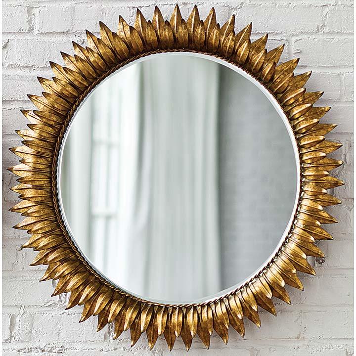 Regina Andrew Gold Sun Mirror