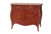 Accessories Abroad 2 Door Bombay Chest-Red