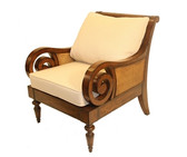 Accessories Abroad Berwick Arm Chair with Cushion
