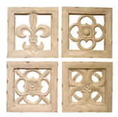 Accessories Abroad Set of Wooden Wall Plaques