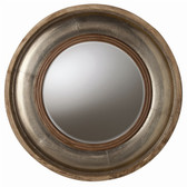 Arteriors Kathleen Light Wood and Silver Foil Mirror
