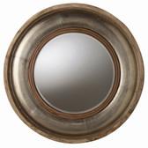Arteriors Kathleen Light Wood and Silver Foil Mirror