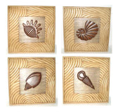 Accessories Abroad Wooden Shell Wall Panels