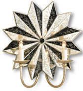 Currey and Company Starburst Wall Sconce