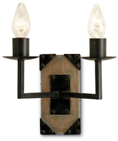 Currey and Company Eufala Wall Sconce, 2L