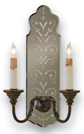 Currey and Compnay Antonio Wall Sconce