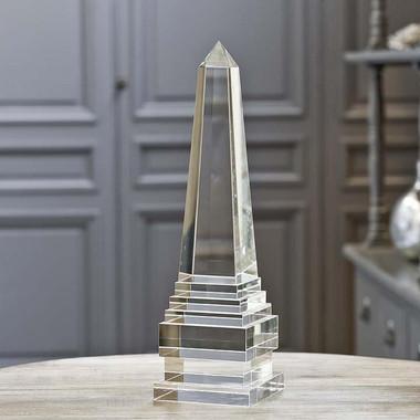 Regina Andrew Extra Large Crystal Obelisk