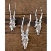 Regina Andrew Metal Trophy Skulls