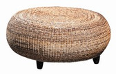 Furniture Classics Mandalay Round Ottoman