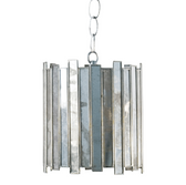 Worlds Away Faceted Chandelier Pendant - Small