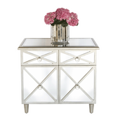 Worlds Away Claude Mirrored Chest