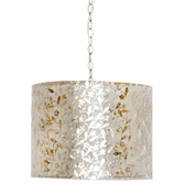 Worlds Away Clara Inlaid Capiz Pendant Shade