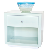"Worlds Away Farrah ""Ice"" Nightstand"
