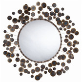 Arteriors Kensey Abstract Iron Mirror