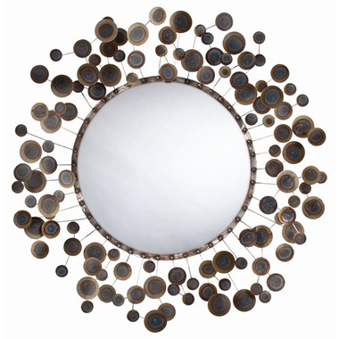 Arteriors Kensey Abstract Iron Mirror