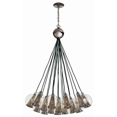 Arteriors Caviar Adjustable Bouqet-Brown Nickel