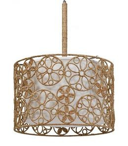Regina Andrew Modern Floral Woven Rattan Pendant