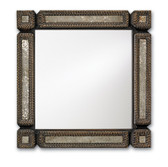 Currey and Co. Tramp Art Mirror