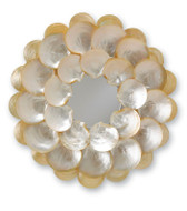 Currey and Co. Mother of Pearl Mirror