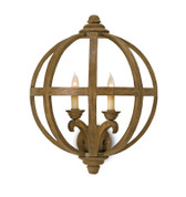 Currey and Co. Axel Wall Sconce