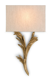 Currey and Co. Bel Asprit Wall Sconce, Left