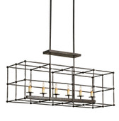 Currey and Co Fitzjames Rectangular Chandelier