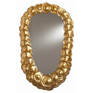 Arteriors Fungin Antique Gold Leafed Mirror