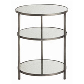 Arteriros Percy Side Table-Zinc