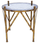 Old World Design Bunching Side Table