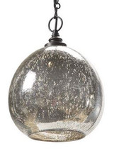 Regina Andrew Antique Mercury Glass Float Pendant