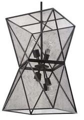 Iron Isosceles chandelier by Regina Andrew Design.