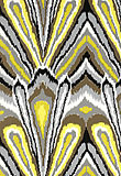 Design Inspiration Trina Turk Indoor / Outdoor Inspired by an ikat or warp printed woven design, this colorful and dramatic print is one of the statement patterns in Trina's collection, adding an exotic note. Printed on a twill ground, this bold flamestitch style print lends itself to a variety of applications, from upholstered chairs to dramatic curtains and cushions, both indoors and out.